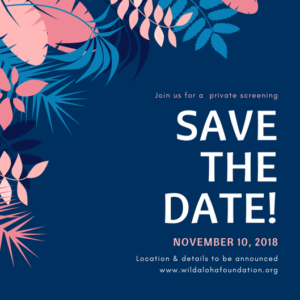 Save the date: November 10, 2018