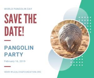 Pangolin Party - February 16, 2018